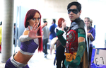 Otakon 2015 Teen Titans by E7-Photography