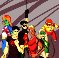 We Are Young Justice, Bitch. by woodstock-chan