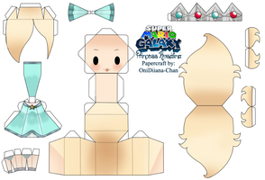 Princess Rosalina Papercraft by Ovelayotli