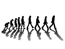 Beatles Evolution by acantarela