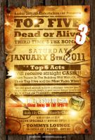 TOP 5 Flyer by AnotherBcreation