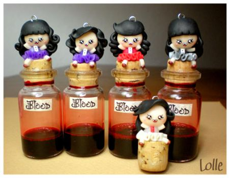 Fimo Vampires Blood by LolleBijoux