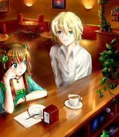 My favorite Cafe by Lunnarisaku
