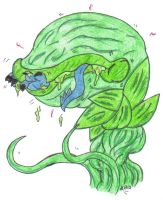 Amru Vore: Swallowed by a Plant Creature by KnightRayjack