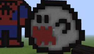 Minecraft boo by ravenheart628