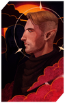 Commission: Tarot Rhys by UnlovedClown