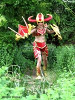 Shyvana Cosplay League of Legends by SnowscarredLady