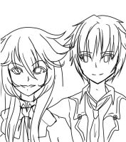Alice and Oz {Pandora Hearts}|PROGRESS DRAFT by rosethorncams14