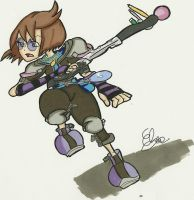 ME -Kingdom Hearts Style 2013 by Project-GAME