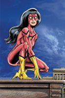 Spider-Woman by Simon-Williams-Art