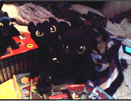 How to Train your Dragon collection by Clonesaiga