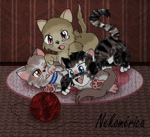 Neko HTMR - CentralTrio by Moonfire95