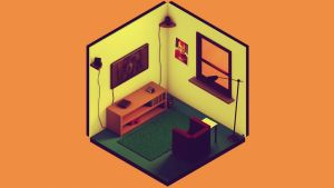 Marvel Vintage Room Complete by Luckino