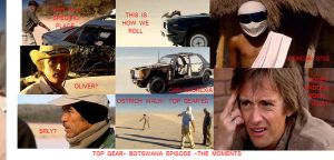TOP GEAR BOTSWANA MOMENTS by Fesumien
