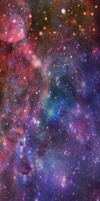 Space Custom Box Background by slowtown
