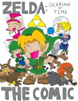 Zelda OoT Comic Title Page by Dilly-Oh