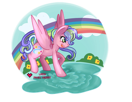 Spring Mist Commission by ladypixelheart