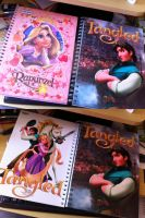 Tangled - NoteBook by LitaOliveira