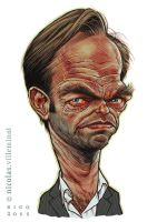 Hugo Weaving by ElectroNic0