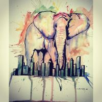 Elephant out of the Room by PardonWill