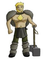 Character art: Barbarian by GlassMouse89