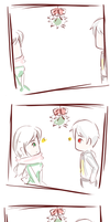 APH PruHun-Under the Mistletoe by naznaz95