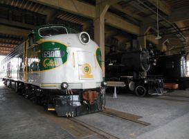 Southern Railway Engines 542 and 6900 at Spencer by rlkitterman