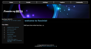 Foxxin V4 Beta - Front Page - 1 by Lunamania