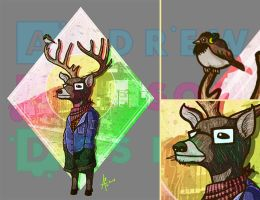 Mumford the deer don't wear shoes by incomitatum