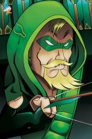 Oliver Queen by StamayoStudio