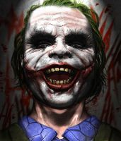 The Man Who Laughs by rogermein1