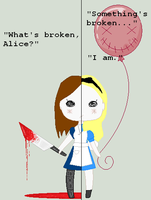 Broken Alice by NinjaPrincess1000