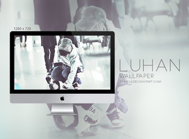 EXO Wallpaper: LU HAN - 001 by sarielk