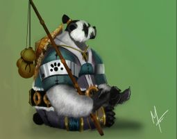 Panda Monk 3 Copy by Manveru54