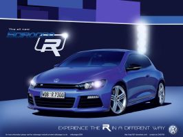 New VW Scirocco R UK by Dap1987