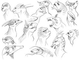 More Creature Sketchies by SilentReaper