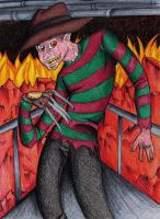 Freddy Krueger by Freak-Egg