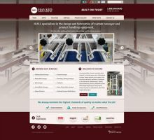 Havard Manufacturing Website by HappyCatfishWeb