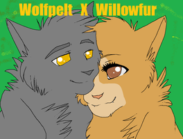 WolfXWillow by IzziTheEpic19