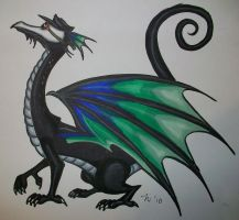 Pestilence Dragon by magefeathers