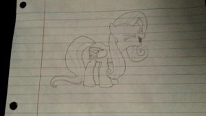 And then there's me actually trying to draw by iitzRainbowDash