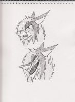 Cloud's dead ugly face practice by Kitty-of-Doom524