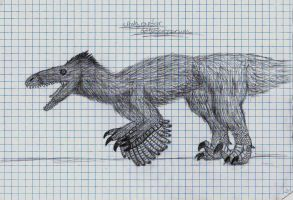 Pain-in-the-### Utahraptor by giganotosauruslover