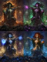 PlagueWitch+Varients by Eedenartwork