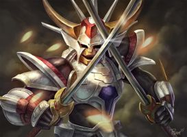 Ronin Warriors White Inferno Armor by PTimm