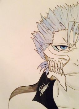 Grimmjow Jaggerjack by tiger-of-the-devil05