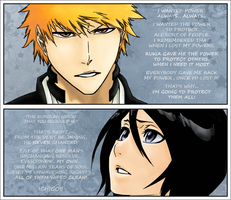 And he changed her world - IchiRuki 476 by laia081