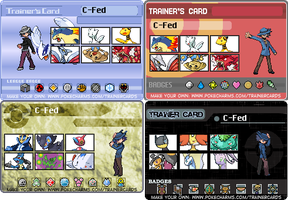 Trainer Cards (Uncompleted) by Sergeant-Sunflower