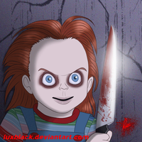Chucky's face animation by LuxBlack