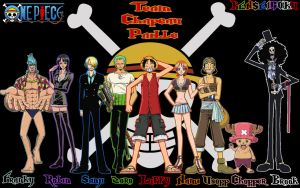One Piece Team Chapeau Paille by kenseigoku